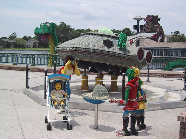 Downtown Disney is a shopping and entertainment district in